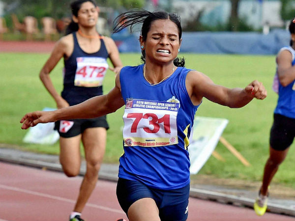 Sprinter Dutee Chand qualifies for Rio Olympics