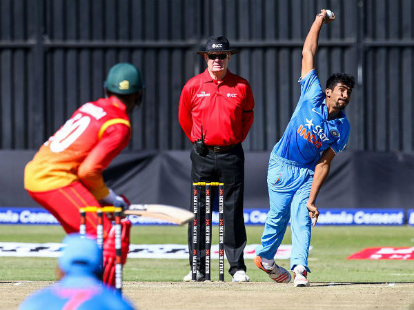 2nd T20I: Sran, Bumrah fire as Team India come back strongly, Zimbabwe post 99/9