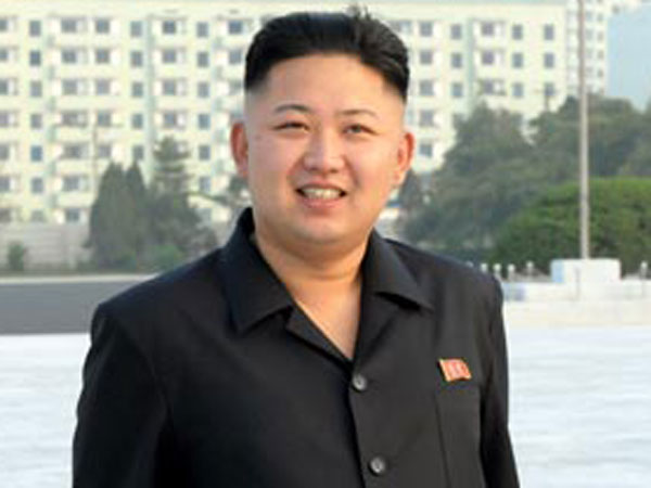 Kim Jong Un caught smoking