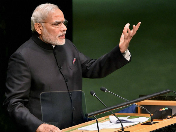 Poor should be strenghtened: Modi