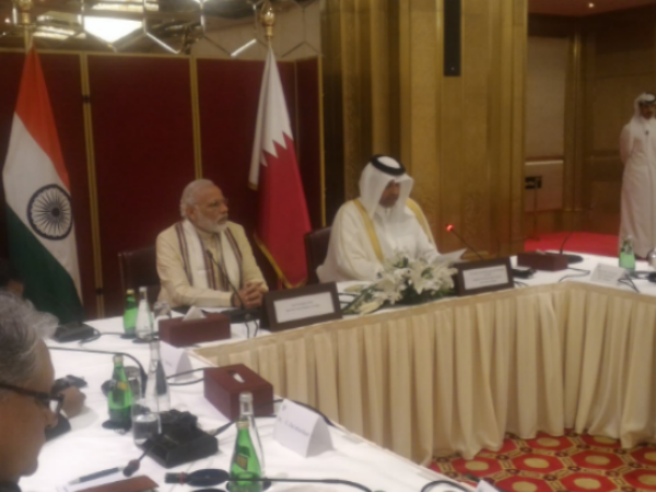 PM meets business leaders in Doha