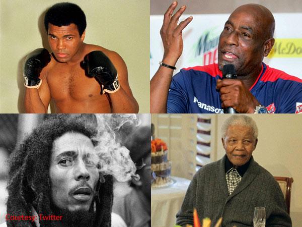 Nelson Auto Finance >> Muhammad Ali, Viv Richards, Bob Marley---each a Nelson Mandela in their own fields - Oneindia News