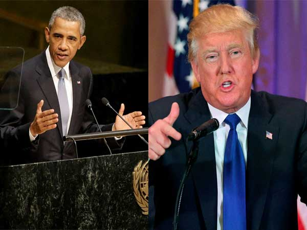 Barack Obama slams Donald Trump