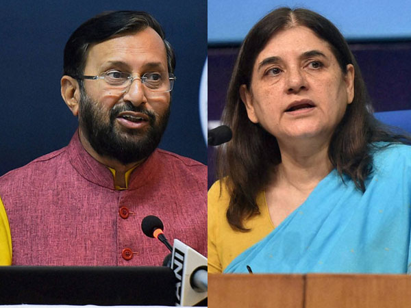 Maneka slams Javadekar over animals