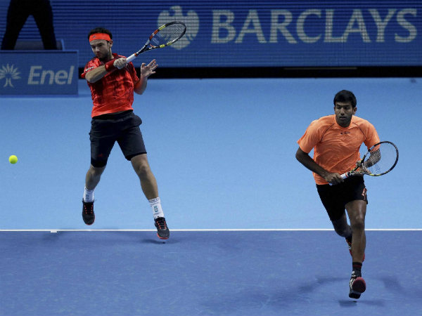 File photo: Bopanna (right) and Mergea in action