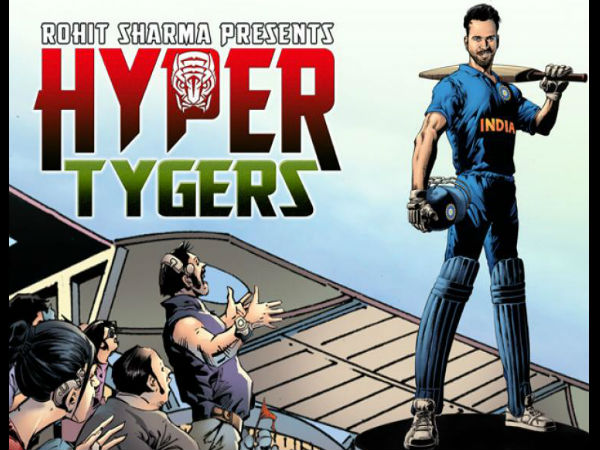 Rohit Sharma launches first superhero cricket graphic novel 'Hyper Tygers'