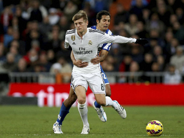 Germany's midfielder Tony Kroos compliments Virat Kohli