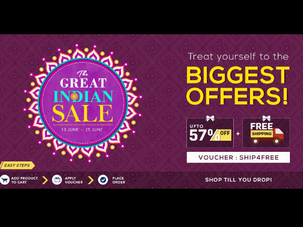 THE GREAT INDIAN SALE!