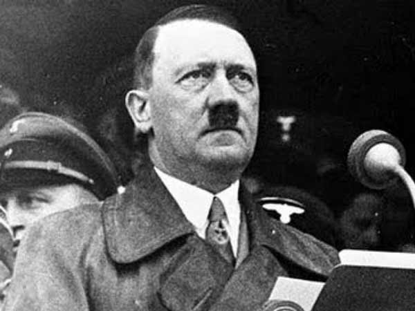 File photo of Nazi leader Adolf Hitler