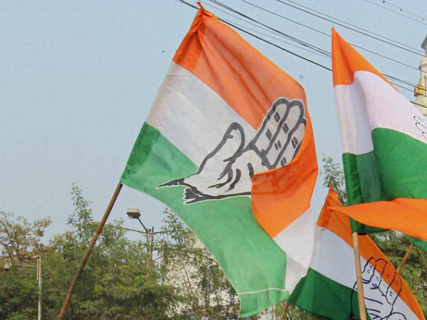 Congress wins three local body elections in Madhya Pradesh.