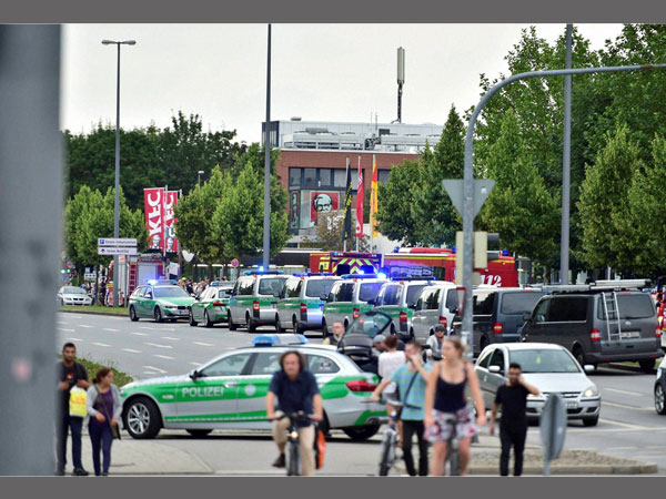 The incident happened a few days after an armed youngster attacked some people on a train in Wurzburg in south-central Germany
