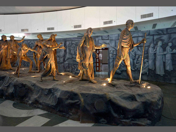 Mahatma Gandhi's Dandi March features in the Museum