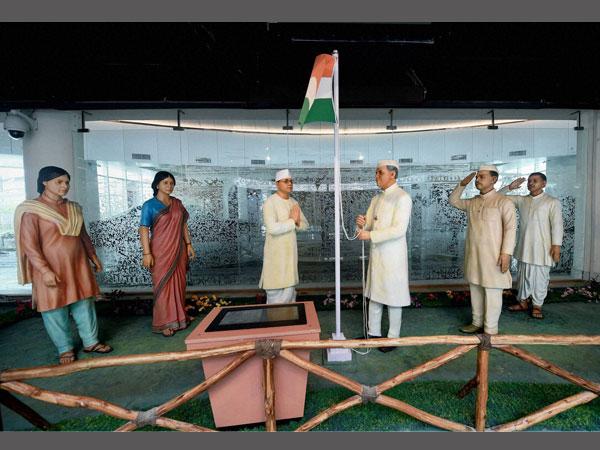 Jawaharlal Nehru's installation at the Museum