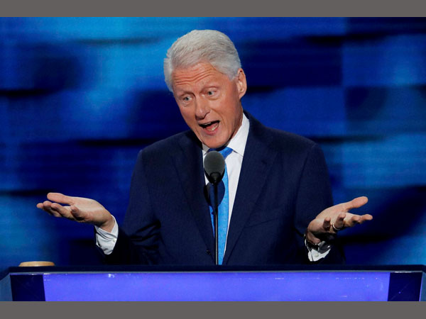 Bill Clinton endorses Hillary Clinton with a personal touch