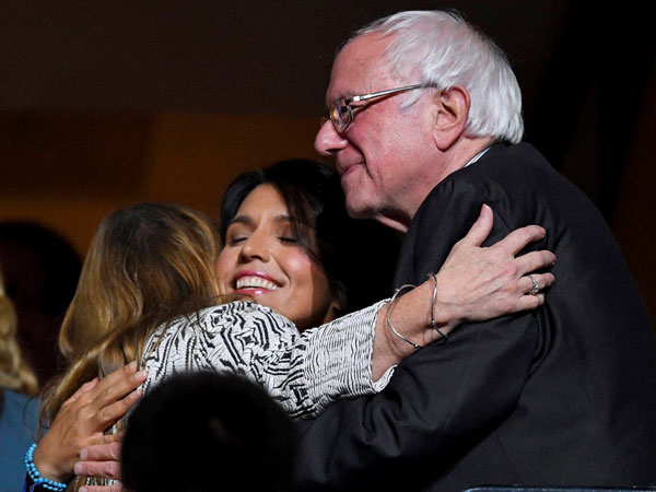 The Sanders with Tulsi Gabbard