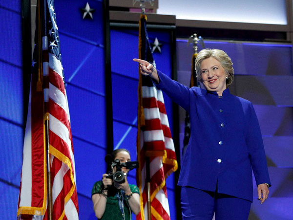 The first-ever woman presidential nominee in US for a major political party