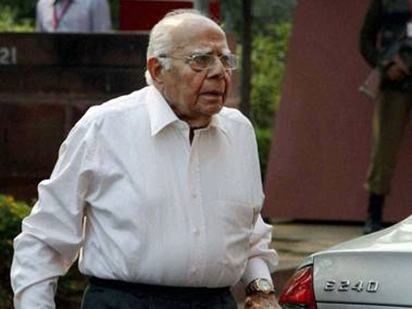 Jethmalani's exit: BJP slapped with fine