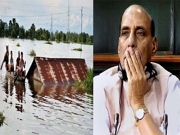 Rajnath to visit flood-hit Assam