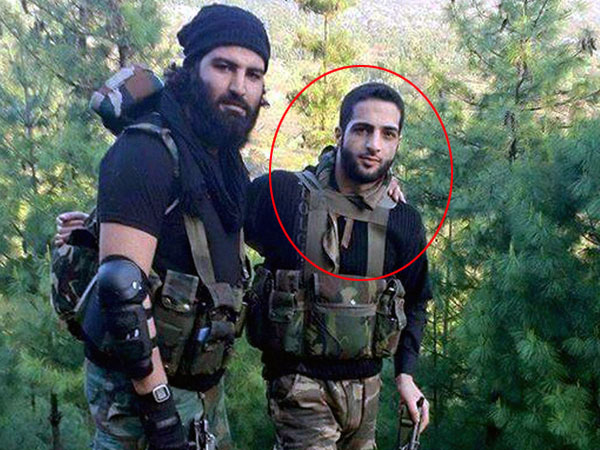 File Photo of most wanted Hizbul Mujahideen militant commander Burhan Wani (R), who was killed during an encounter at Kokarnag area of Anantnag District of South Kashmir.