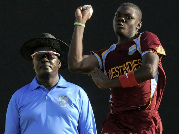 West Indies add uncapped pacer Alzarri Joseph for second Test against India