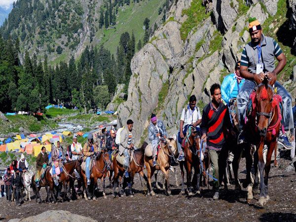 File photo of Amarnath Yatra