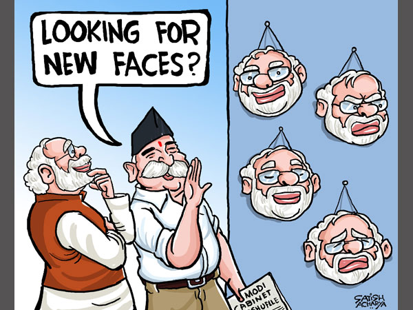 Cartoon Of The Day Modi 39 S New Faces In The Cabinet