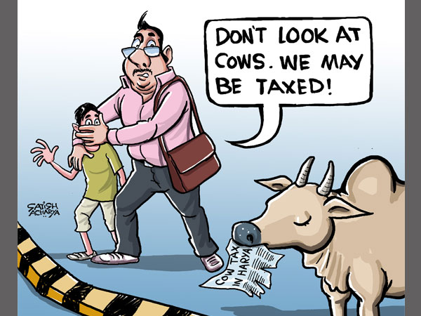 Cartoon of the Day: The Cow controversy