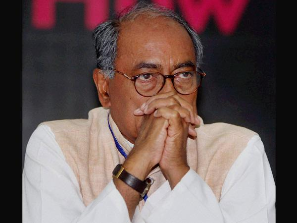 Digvijay accuses govt of witch hunting