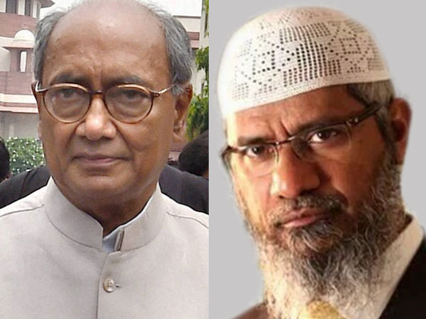 Digvijay defends meeting Zakir Naik