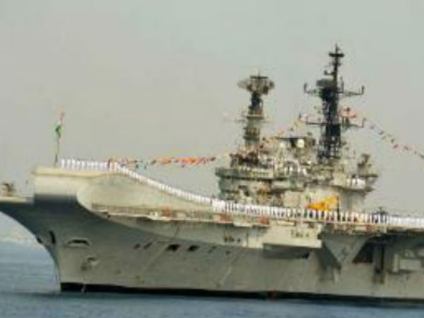 INS Viraat embarks on farewell voyage
