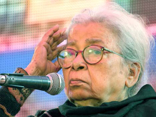 Mahasweta Devi wielded the pen to complement her activism.