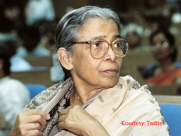 Mahasweta Devi's autobiography remains unfinished, lost.