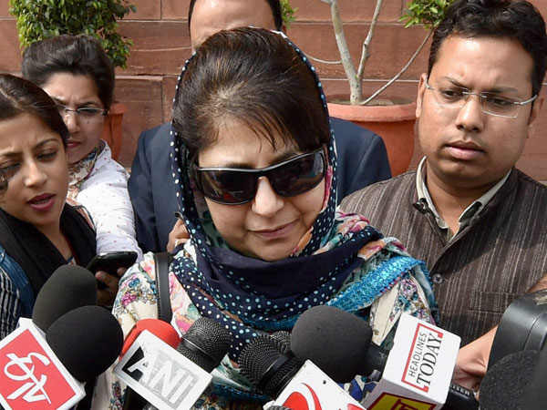 Mufti appeals for calm in J&K