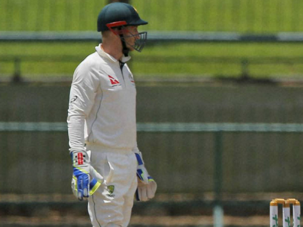 Wicketkeeper Peter Nevill is pictured during the 1st Test