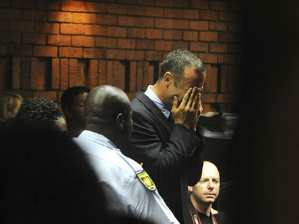 Oscar Pistorius sentenced six years in jail for girlfriend's murder