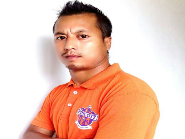 Raju Yumanm in FC Pune City colours