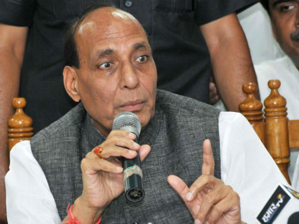 Rajnath appeals for peace in Kashmir