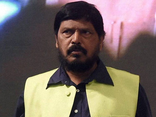 Athawale corrected during oath-taking