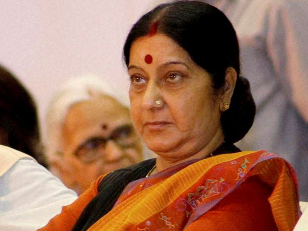 Sushma misses oath ceremony