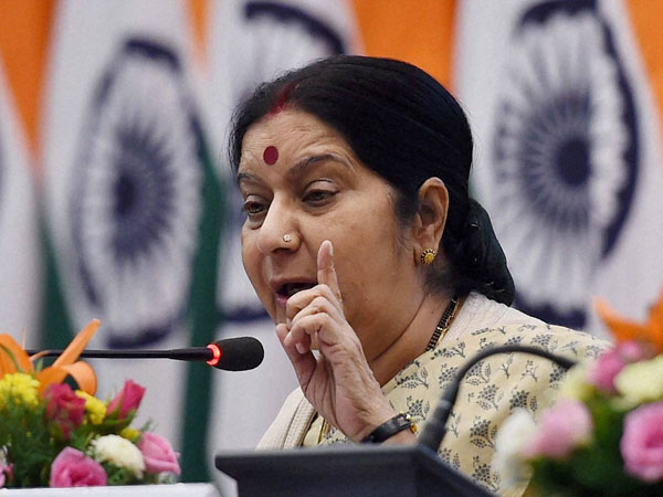 Girl faces racism, Sushma apologises