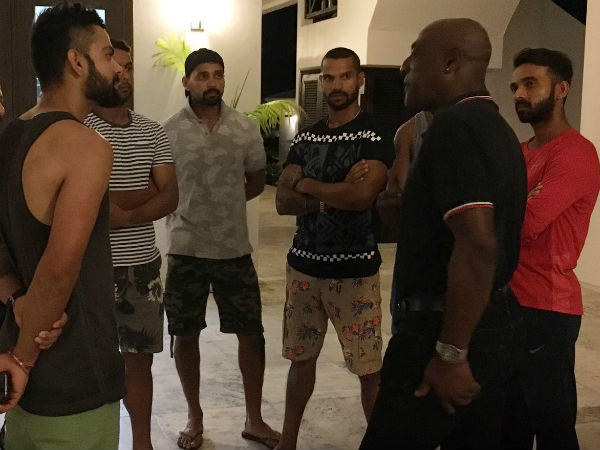 When Virat Kohli, Team India met 'greatest ever' Sir Viv Richards ahead of Antigua Test