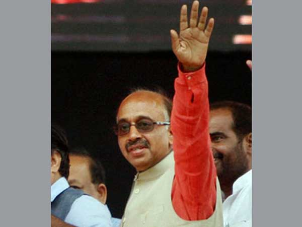 Vjay Goel inducted in Modi's Cabinet