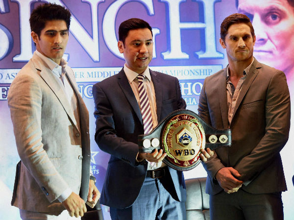 Vijender Singh-Kerry Hope showdown: Full list of sports stars, actors, politicians to witness fight