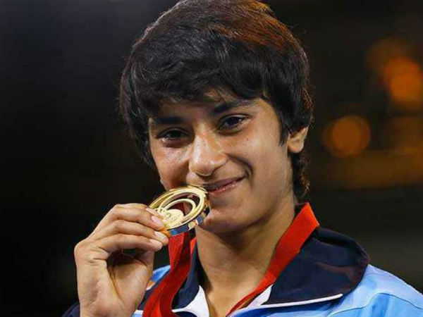 Confident India grappler Vinesh Phogat eyes gold at Rio Olympics