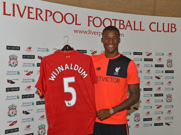 Liverpool sign Georginio Wijnaldum from Newcastle United (Image courtesy: Liverpool FC twitter handle)