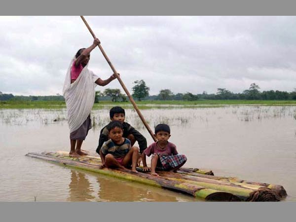 PM announces Rs 2350-cr package for flood-ravaged Northeast states