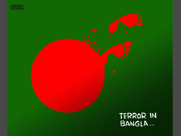 Cartoon of the Day: When Dhaka shed tears of blood