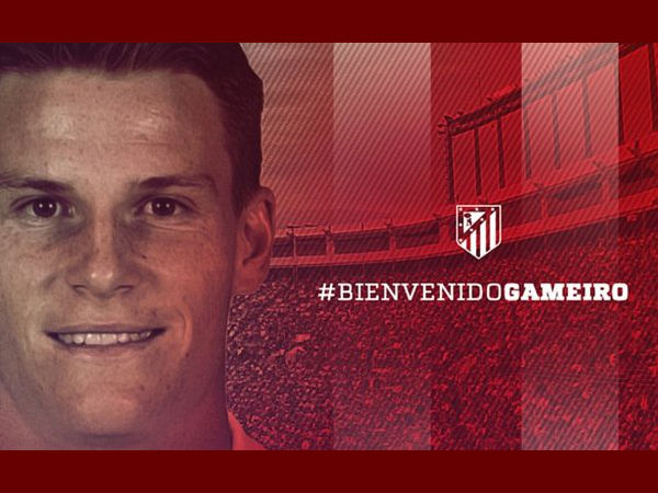 Kevin Gameiro joins Atletico Madrid from Sevilla (Image courtesy: Atletico Madrid twitter handle)