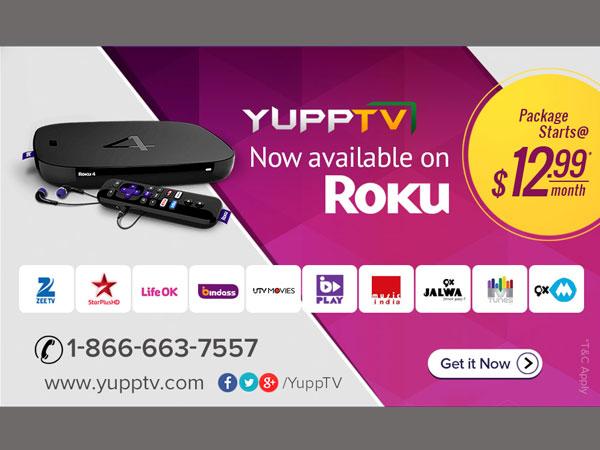 YuppTV Channel makes a comeback on Roku Players and Roku TVs
