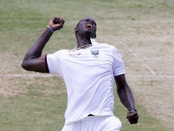 Jason Holder troubled Indian batsmen